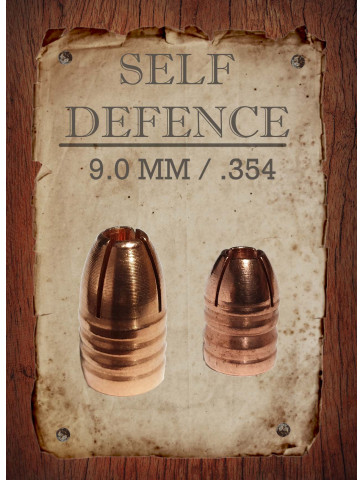 9mm | 354, Self Defence